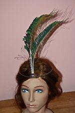 Art deco style tiara sterling silver amethyst hairband hallmarked