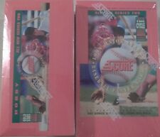 """(2)-'94 SCORE BASEBALL SERIES 2 FAC SEALED BXS~GRIFFEY~""""GOLD STARS"""" & THE CYCLE"""