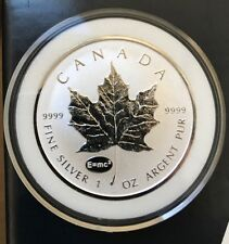 2015 Canada $5 1oz Silver Maple Leaf E=MC2 Privy Mark Einstein Bullion coin
