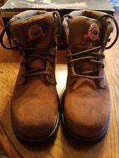Brahma Owden oil resistant steel toe work boots Mens 6 W 7 1/2