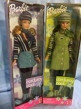 Barbie Mattel Corduroy Cool 1999 Pair of Dolls