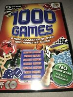 1000 Games Collection - PC (2003) Windows XP