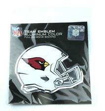 NFL Arizona Cardinals Helmet Aluminum Emblem, Red, Standard NEW