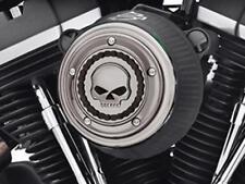 Harley-Davidson Skull & Chain Air Cleaner Trim / Smokey Chrome/ Softail 61400166