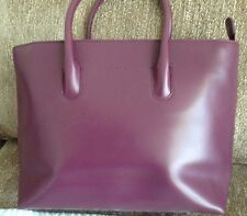 Furla Lightweight Italian Leather Tote bag with Zipper Excellent Condition