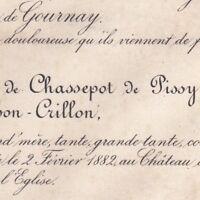 Laure Charlotte De Chassepot De Pissy De Mahon-Crillon 1882