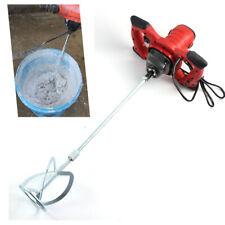 Concrete Mixer Mortar Plaster Screed Mixer Heavy Duty 2 Gear Power 6 Speed