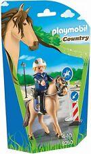 Playmobil Country 9260. Policía montada a caballo. De 4 a 10 años
