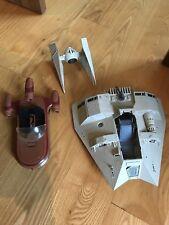 Vintage Star Wars Landspeeder, Tie Interceptor, HOTH Snow Speeder Free Shipping