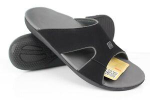 Spenco Kholo Plus Men's Slide Sandals Size 9 Wide Black