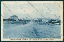 Grosseto Castel del Piano cartolina QQ3469