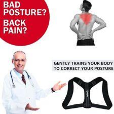 Correcteur de Posture Dos Réglable,Maintien Colonne Vertébrale Soulage Douleurs