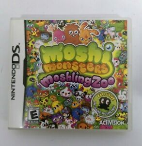 Moshi Monsters: Moshling Zoo Nintendo DS DSi DSL 3DS Game FREE P&P
