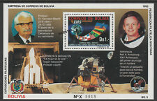 Bolivia 7089 - 1993 SPACE  SPECIMEN m/sheet opt'd MUESTRA unmounted mint