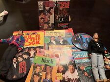 Vintage New Kids On The Block Dolls, Magazines, Swag, Vcr Videos