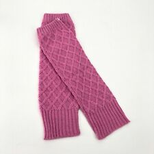 Hollister Womens Pink Sparkly Leg Warmers Ballet Dance