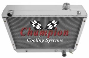 3 Row BC Champion Radiator for 1963 1964 1965 Chevrolet Chevy II Nova Factory V8