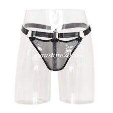 Men's G String Thong Pouch Sexy Panties Bondage fantasy underwear fishnet Brief