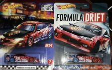 2020 Hot Wheels BOULEVARD Nissan Silvia S15 FORMULA DRIFT Variant Card Lot of 2