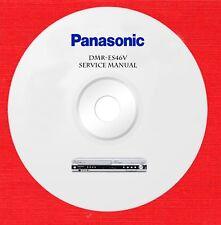 Panasonic dmr-es46v Repair Service manual on 1 cd in pdf format