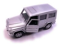 Mercedes Benz G - Class Model Car in Silver Scale 1:3 4 (Licensed)