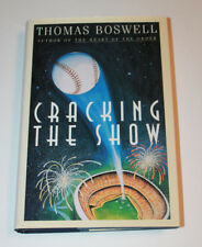 Cracking the Show by Thomas Boswell (1994, Hardcover)