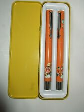 Parker Vector Taz Looney Tunes Fountain and Roller Ball Pen Set  1999