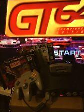 Nintendo 64 console N64 + Contrôle & 4 games Bundle GT64 FIFA 98 Prem manager F1