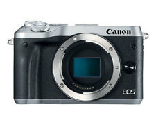 Canon EOS M6 Silver Body Only (Multi Language) (Kit Box) Ship from US