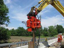 MKT V-2Esc - Side Clamp Excavator Mounted Vibratory Hammer