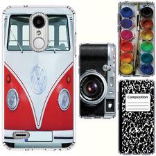for LG Rebel/Zone/Phoenix 4(Clear) Slim Flexible TPU Skin Phone Case Cover-H