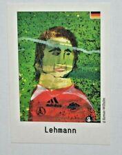 Tschutti Heftli Fußball EM 2008 Sammelsticker/Jens Lehmann Deutschland ungeklebt
