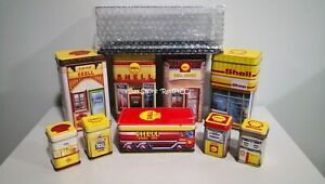 SHELL 125th Anniversary LIMITED EDITION Heritage Canisters Collection