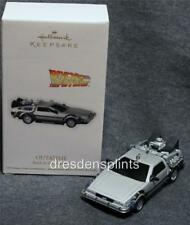 2012 Hallmark Outatime Back to the Future DeLorean Car Mib out of time New