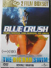 Blue Crush & The Big Bad Swim (DVD, Two Films) NEW SEALED IMPORT PAL Region 2
