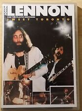 JOHN LENNON AND THE PLASTIC ONO BAND - SWEET TORONTO - DVD SIGILLATO (SEALED)