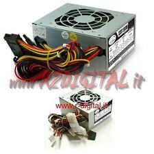 ALIMENTATORE PC MICRO ATX 500W 20+4p MINI ITX SATA IDE PER MINI COMPUTER
