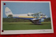 AVIATION- DE HAVILLAND DRAGON RAPIDE DH 89 GUY BROCHOT  N°84 CARTE POSTALE