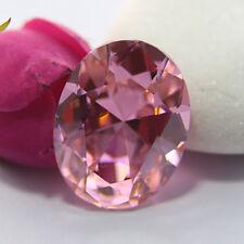UNHEATED 31.10ct Pink Sapphire Diamond Emerald Cut 15X20MM Loose GEMSTONES AU