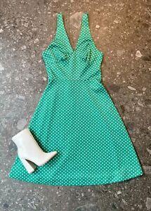 Vintage 70's Polka Dot Dress