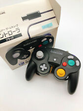 【Boxed】Nintendo Official GameCube controller Black F/S 0923A