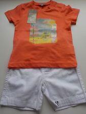 Espagnol Style Bébé Garçon Bleu 2 Pièces Tricot Jam Pantalon et Haut Ensemble//tenue.
