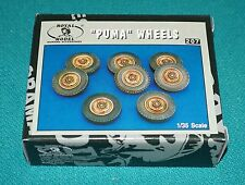 Puma Wheels No.207 Royal Model 1/35 Detail Set Complete & Unstarted.