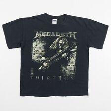 MEGADETH Thirteen Th1rt3en T-Shirt Men's Adult Unisex Large Black Soft