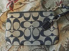 Coach wristlet purse monogram AUTHENTIC