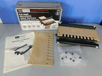 """SEARS CRAFTSMAN DOVETAIL JOINT FIXTURE FOR DRAWER MAKING UP TO 8"""" DEPTH #92570"""