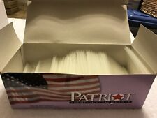 Free Shipping! Patriot Retail Pricemarking - 3� Fine Clear Fasteners - New