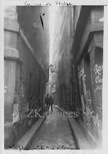PARIS RUE de VENISE Tuberculose Architecture MANUEL '32
