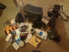 *Vintage Minolta Film Camera With Case, Accessories, X700 Mps, Manuals.