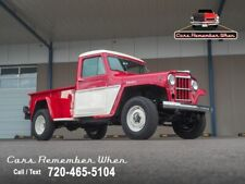 1962 Willys Pickup 350 V8 | A/C | Power Steering and Brakes